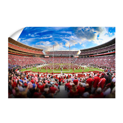 Alabama Crimson Tide - Bryant Denny MDB Field - College Wall Art #Wall Decal