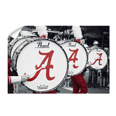 Alabama Crimson Tide - MDB Drums - College Wall Art #Wall Decal