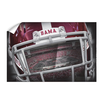 Alabama Crimson Tide - Bama Helmet - College Wall Art #Wall Decal