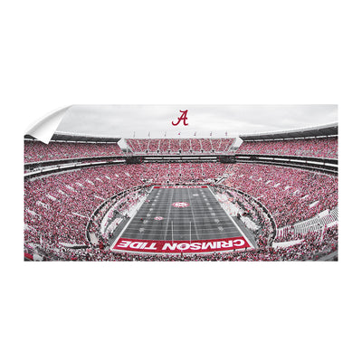 Alabama Crimson Tide - Bryant Denny Panoramic - College Wall Art #Wall Decal