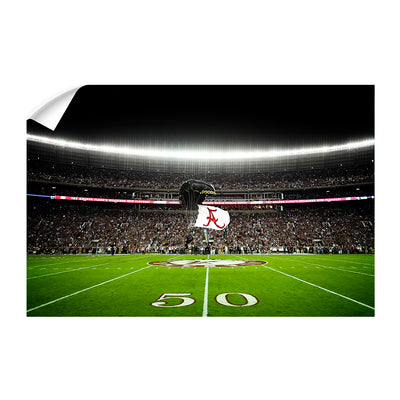Alabama Crimson Tide - Pin Point Landing - College Wall Art #Wall Decal