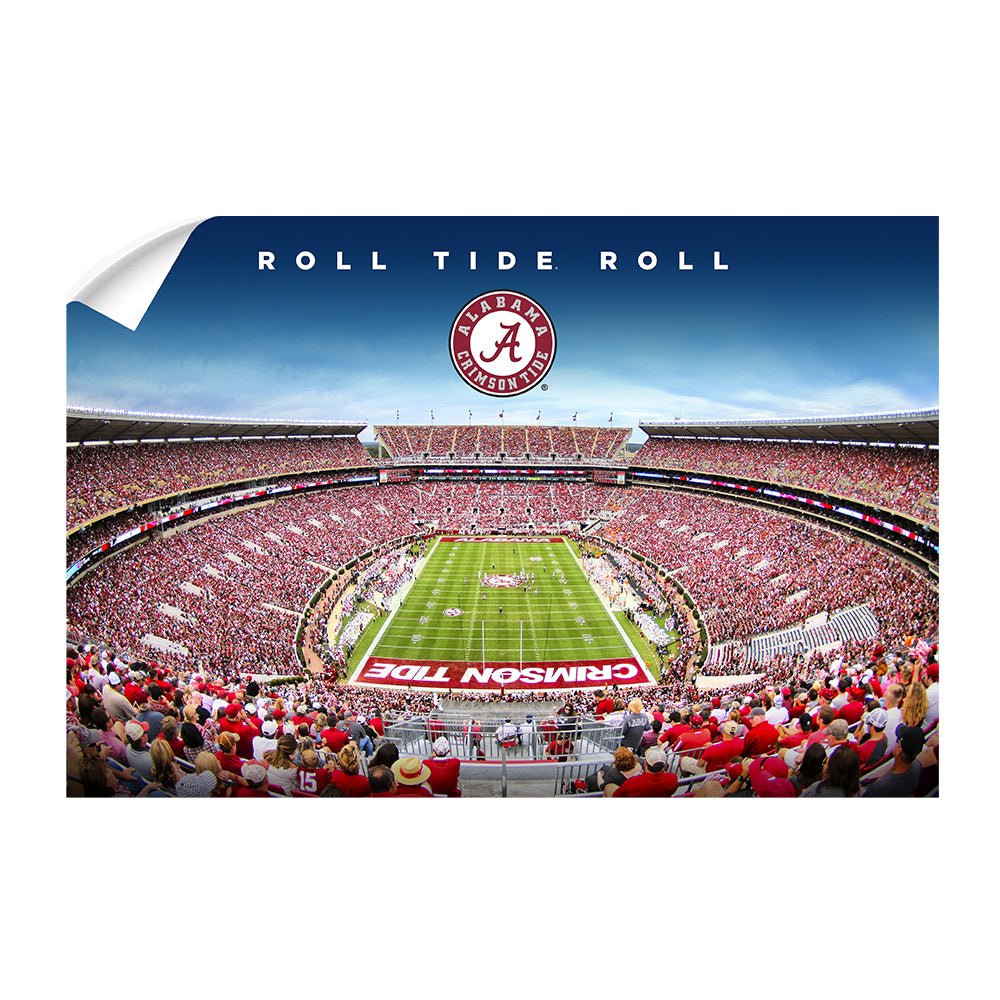 Alabama Crimson Tide - Roll Tide Roll - College Wall Art#Canvas