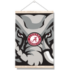 Alabama Crimson Tide - Crimson Elephant - College Wall Art #Hanging Canvas