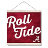 Alabama Crimson Tide - Roll Tide A - College Wall Art #Hanging Canvas