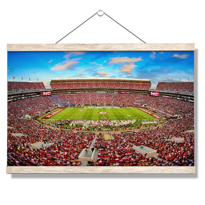 Alabama Crimson Tide - Bryant Denny - College Wall Art #Hanging Canvas