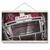 Alabama Crimson Tide - Bama Helmet - College Wall Art #Hanging Canvas