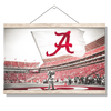 Alabama Crimson Tide - Big Al Flag - College Wall Art#Hanging Canvas