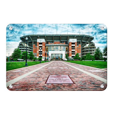 Alabama Crimson Tide - Bryant Denny Stadium - College Wall Art #Metal