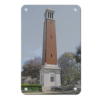 Alabama Crimson Tide - Denny Chimes - College Wall Art #Metal
