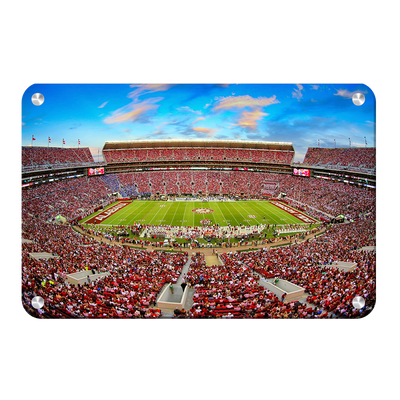Alabama Crimson Tide - Bryant Denny - College Wall Art #Metal