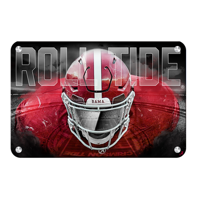 Alabama Crimson Tide - Bama Bring It - College Wall Art #Metal