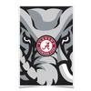 Alabama Crimson Tide - Crimson Elephant - College Wall Art #Poster