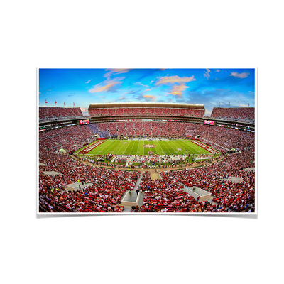 Alabama Crimson Tide - Bryant-Denny Football Stadium Tuscaloosa #Poster