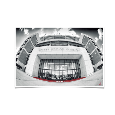 Alabama Crimson Tide - Bryant-Denny Stadium Main Entrance #Poster