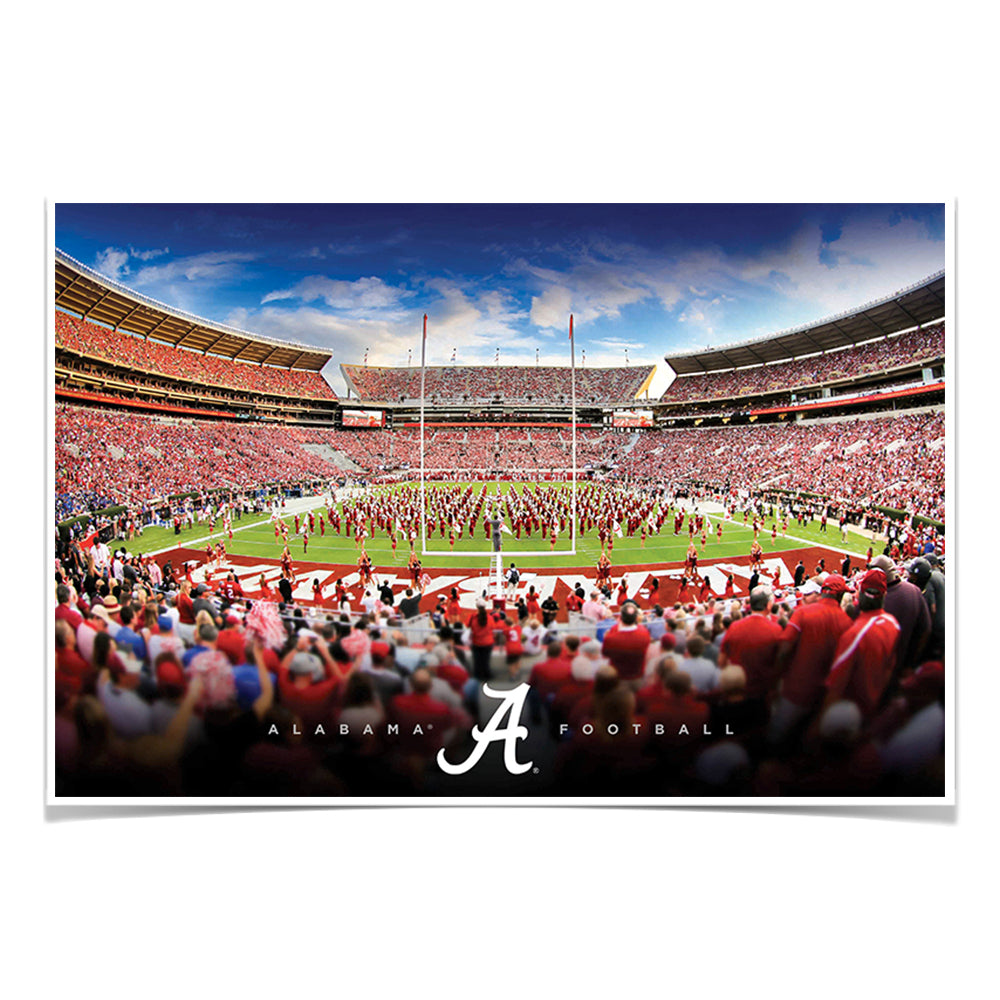 Alabama Crimson Tide - Alabama Football - College Wall Art #Canvas