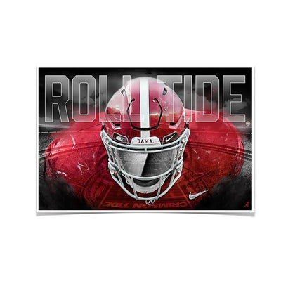 Alabama Crimson Tide - Bama Bring It - College Wall Art #Poster