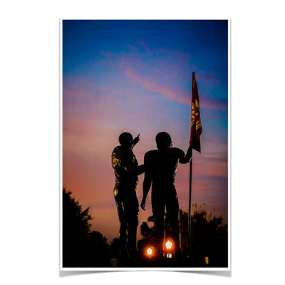 Alabama Crimson Tide - Sky's the Limit Bama - College Wall Art #Poster