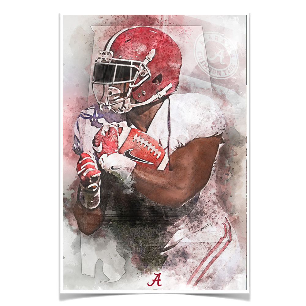 Alabama Crimson Tide - Our State - College Wall Art #Canvas