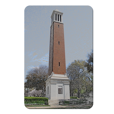 Alabama Crimson Tide - Denny Chimes - College Wall Art #PVC