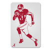 Alabama Crimson Tide - Bama Illustration - College Wall Art #PVC