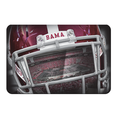 Alabama Crimson Tide - Bama Helmet - College Wall Art #PVC