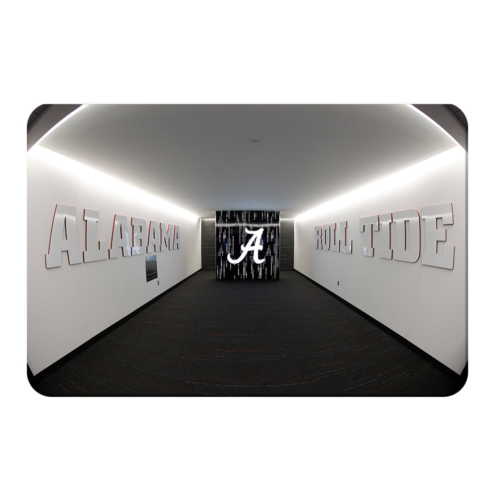 Alabama Crimson Tide - Enter the Locker Room - College Wall Art #Canvas