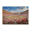 Alabama Crimson Tide - Bryant Denny MDB Field - College Wall Art #Wood