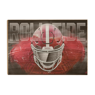 Alabama Crimson Tide - Bama Bring It - College Wall Art #Wood