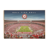 Alabama Crimson Tide - Roll Tide Roll - College Wall Art#Wood