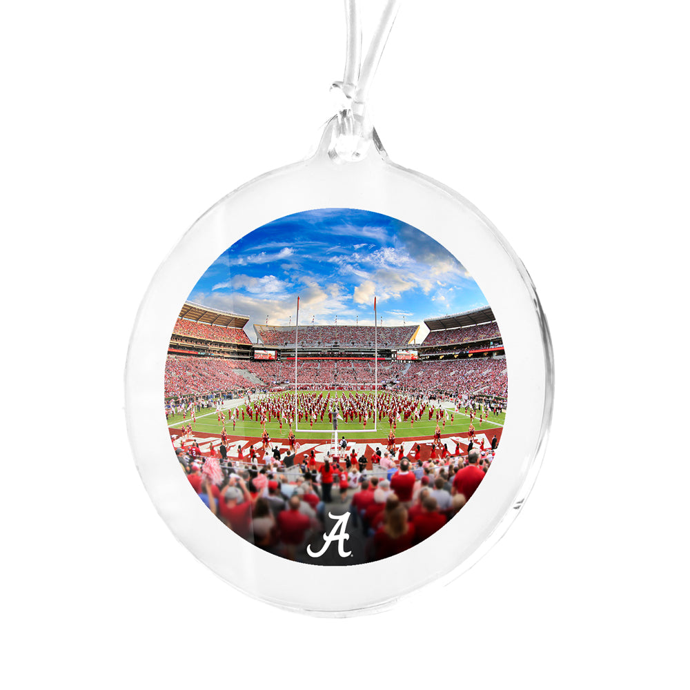 Alabama Crimson Tide - Bryant Denny MDB Field Bag Tag & Ornament