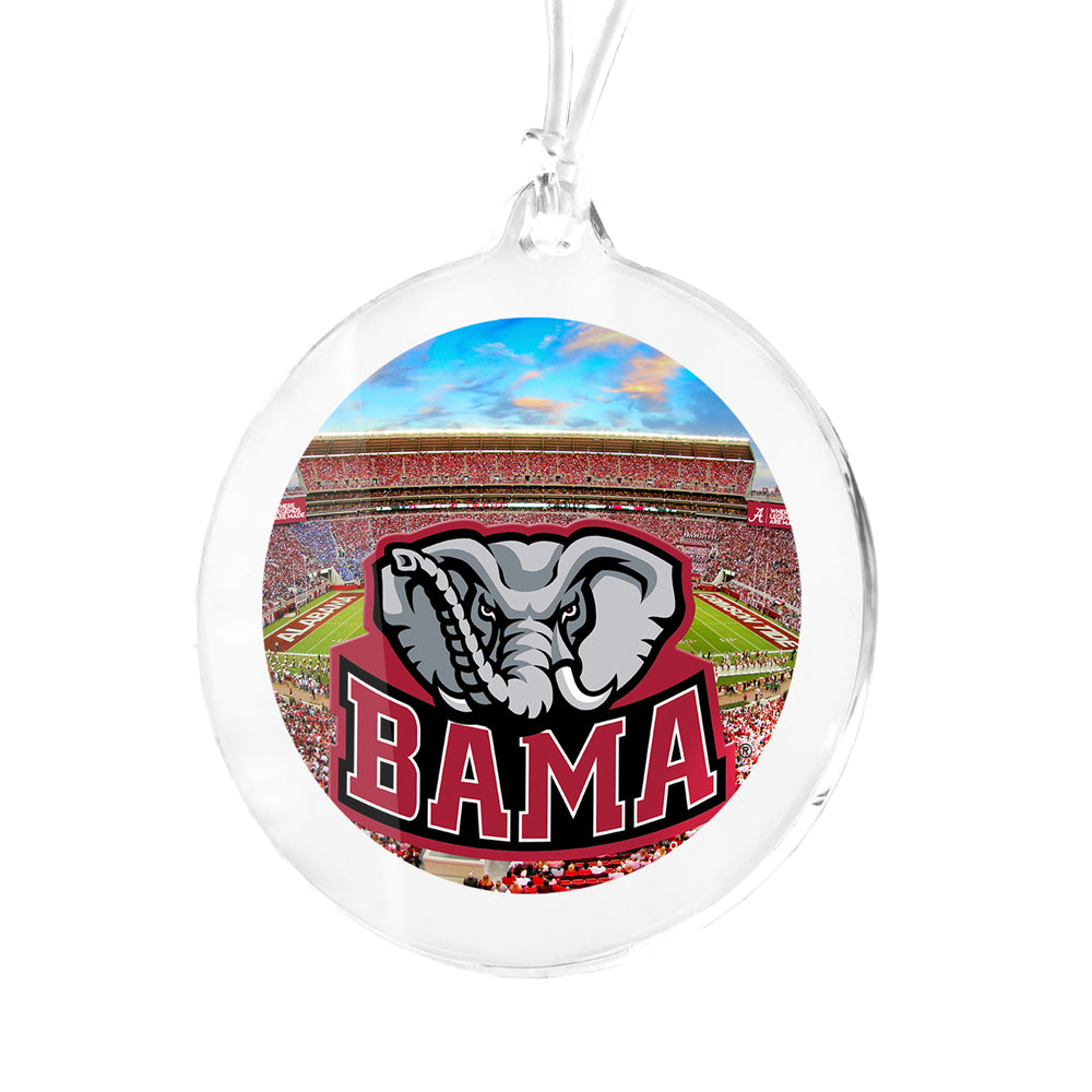 Alabama Crimson Tide - Where Legends Are Made Bag Tag & Ornament