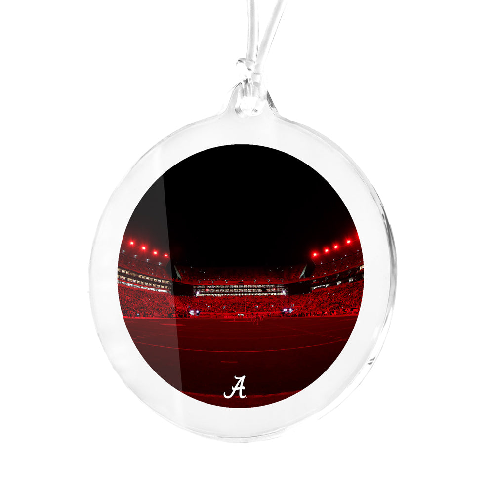 Alabama Crimson Tide - Alabama Crimson Lights Bag Tag & Ornament