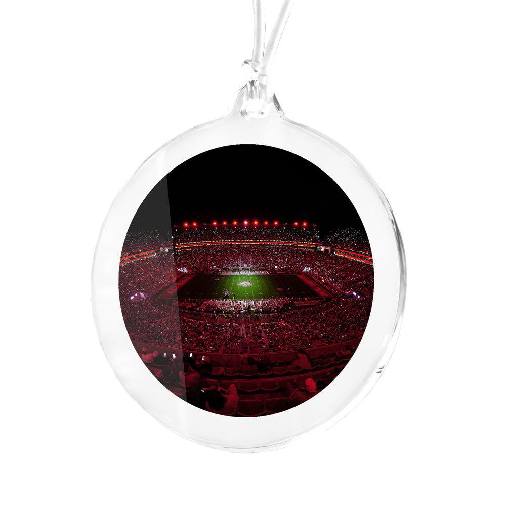 Alabama Crimson Tide - Light Up A Crimson Bryant Denny Bag Tag & Ornament