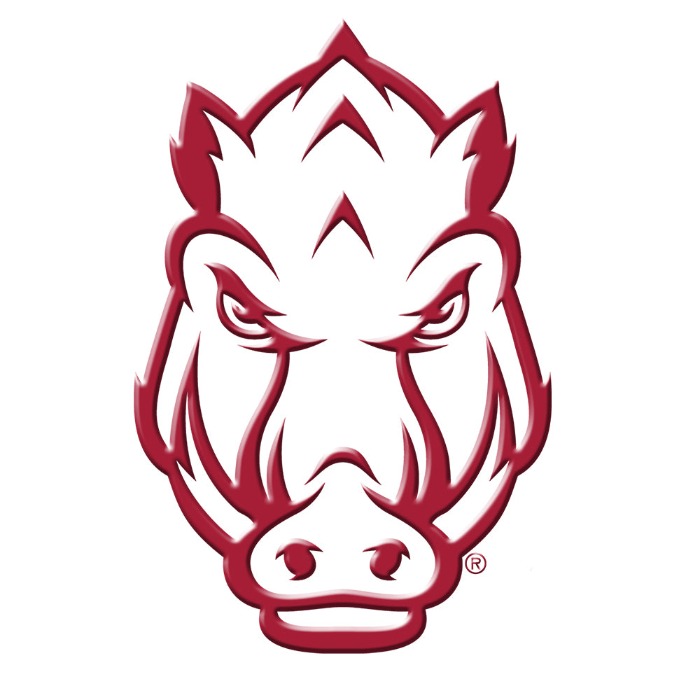 Arkansas Razorbacks -  Arkansas Secondary Mark-Single Layer Dimensional