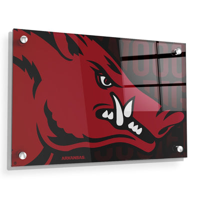 Arkansas Razorbacks - Arkansas Razorback - College Wall Art #Acrylic