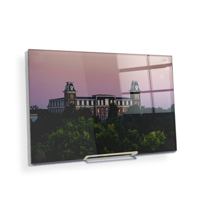 Arkansas Razorbacks - Old Main Sunrise #Acrylic Mini