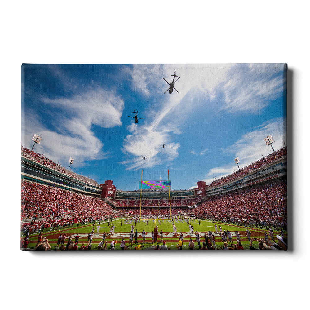 Arkansas Razorbacks - Razorback Stadium - College Wall Art #Canvas