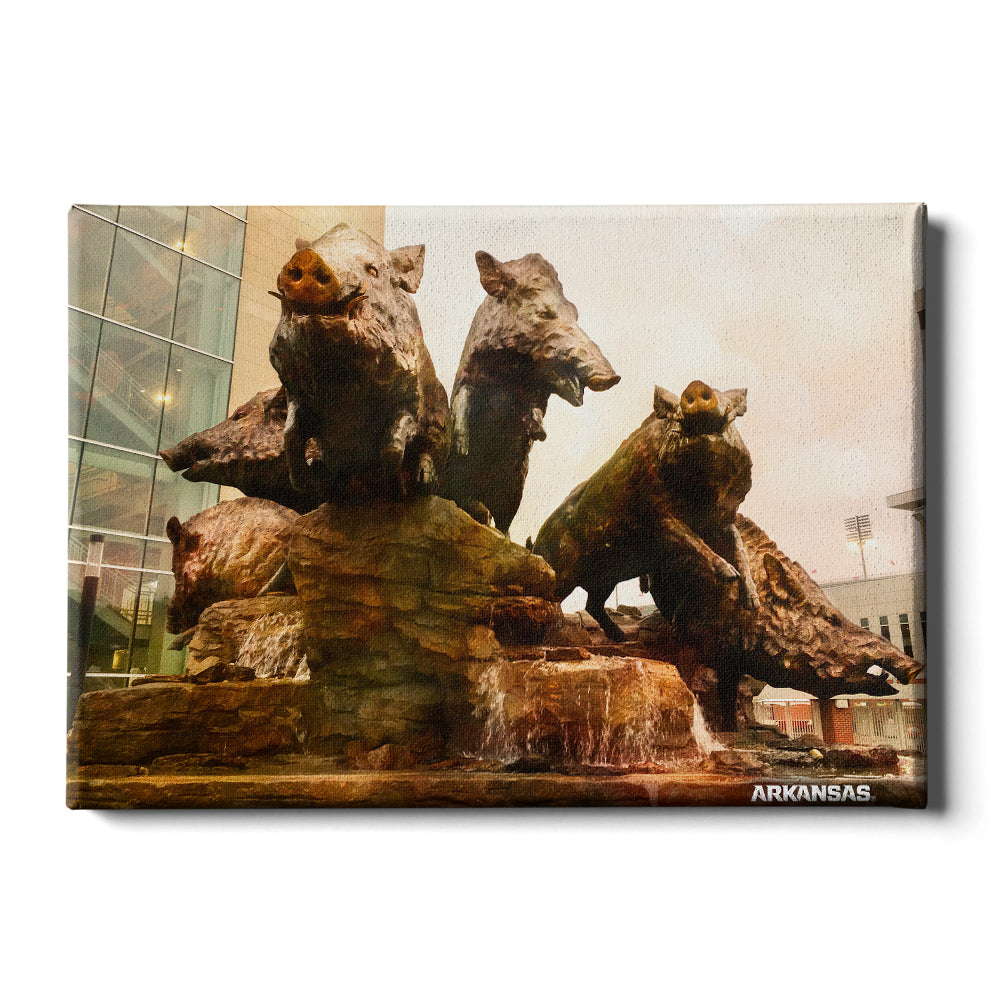 Arkansas Razorbacks - Razorback Championship - College Wall Art #Canvas