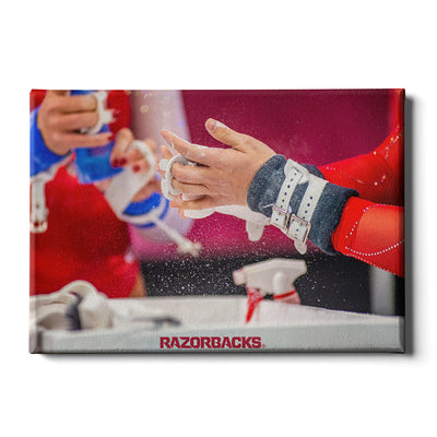 Arkansas Razorbacks - Barnhill Gym #Canvas