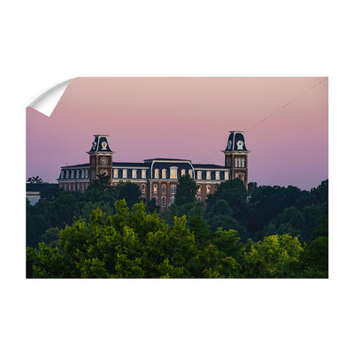 Arkansas Razorbacks - Old Main Sunrise #Decal