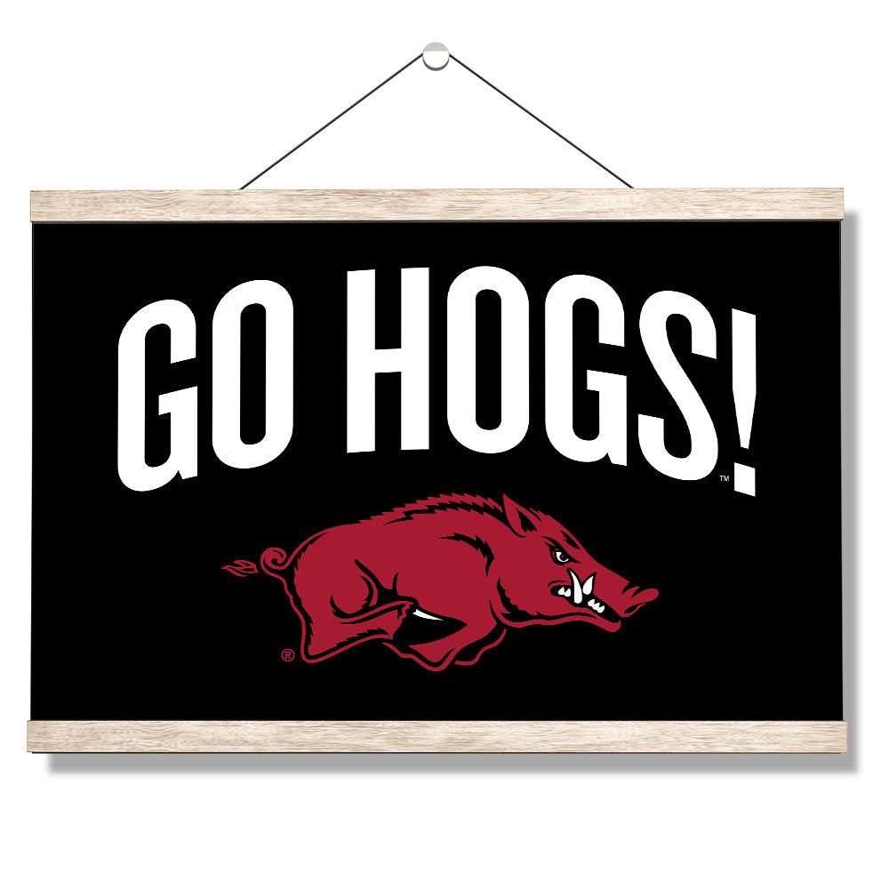 Arkansas Razorbacks - Go Hogs #Canvas
