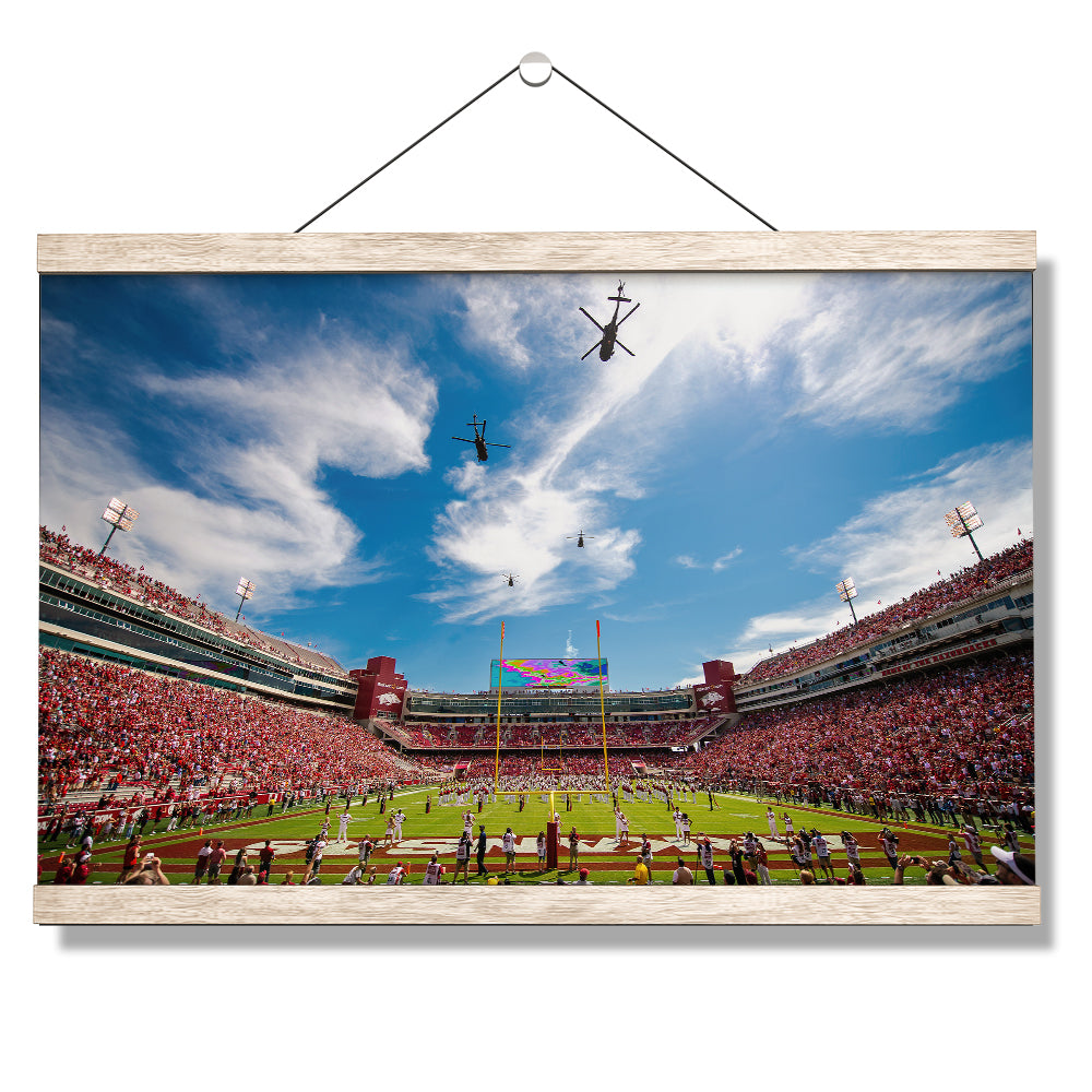 Arkansas Razorbacks - Razorback Stadium #Canvas