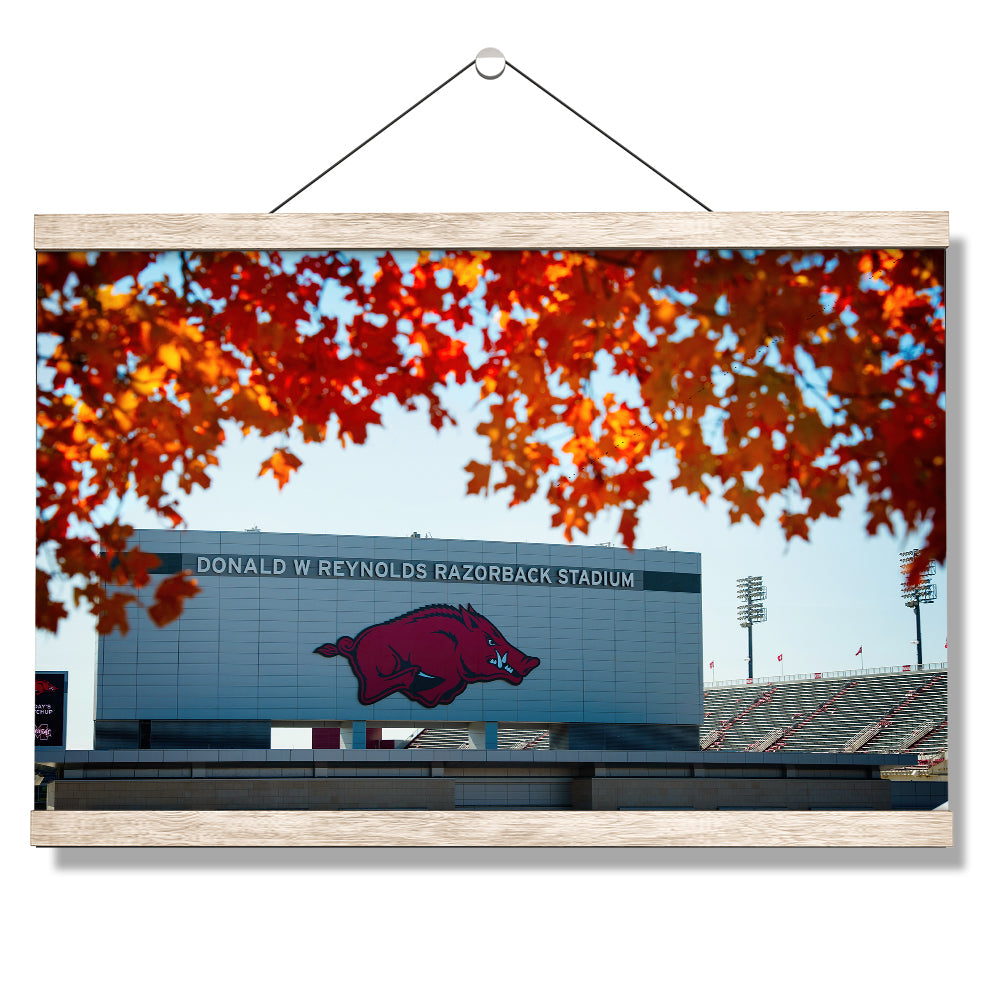 Arkansas Razorbacks - Donald W. Reynolds Razorback Stadium #Canvas