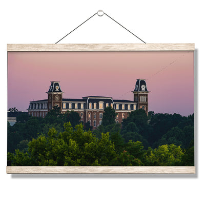 Arkansas Razorbacks - Old Main Sunrise #Hanging Canvas