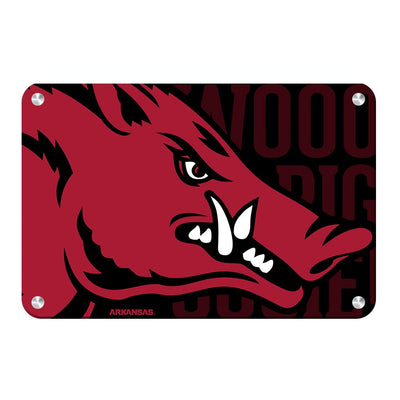 Arkansas Razorbacks - Arkansas Razorback - College Wall Art #Metal
