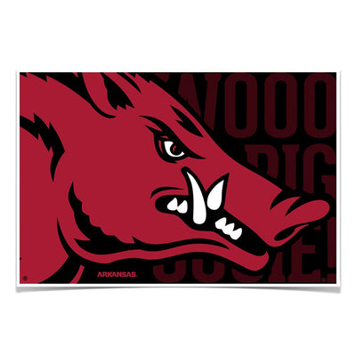 Arkansas Razorbacks - Arkansas Razorback - College Wall Art #Poster