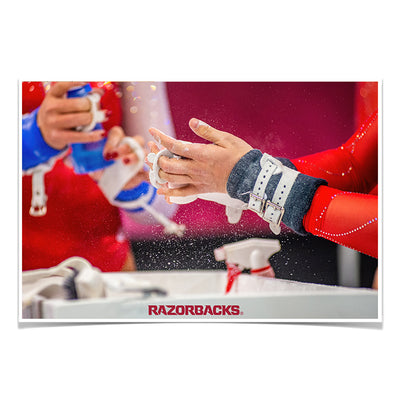 Arkansas Razorbacks - Barnhill Gym #Photo Poster