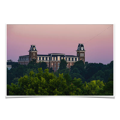 Arkansas Razorbacks - Old Main Sunrise #Photo Poster