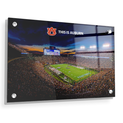 Auburn Tigers - This is Auburn - College Wall Art#Acrylic