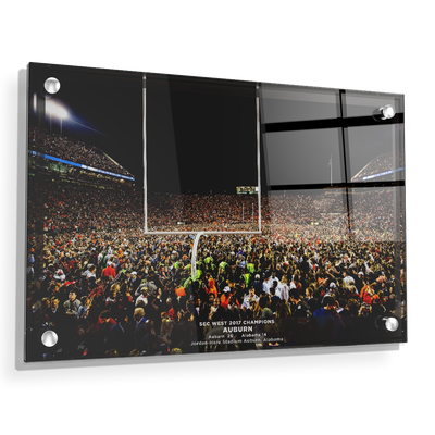 Auburn Tigers - Iron Bowl Champs 2017 - College Wall Art#Acrylic